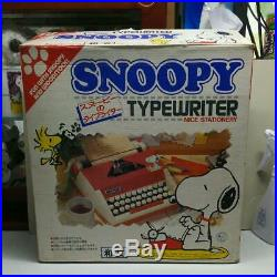 Snoopy peanuts Typewriter Japanese vintage antique 1980s working Red Letter Box