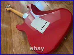 Squier Vintage 1984 Japanese Jv Serial 62 Ri Stratocaster Rare Torino Red Mij