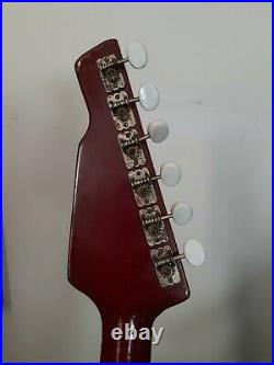 Teisco vintage Japanese Electric Guitar Wg-4L frets leveled plays great