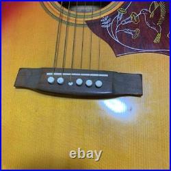 Terada Musical Instrument FW302 Acoustic Guitar Japanese Vintage Rare Model
