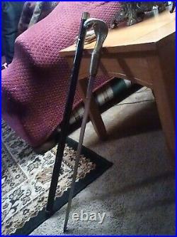 VINTAGE KING COBRA SWORD REAL RED RUBY EYES 21 inch Blade