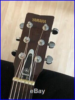 VTG Yamaha FG-180 Nippon Gakki Red Label Japanese Acoustic Folk Guitar MIJ +Case