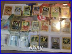 Very rare vintage pokemon card lot 100s+ base fossil neo e series 1st Editions