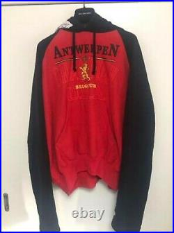 Vetements Hoodie Red M size fashion Goods Vintage from japanese K9536