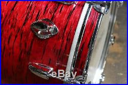 Vintage 1970's Japanese 14x20 Bass Drum Red Onyx