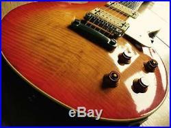 Vintage 1981 Tokai Japanese Ls-120 Les Paul Standard Aged Cherry Sunburst Mij