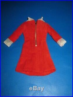Vintage Barbie Japanese Exclusive Red Velvet Dress