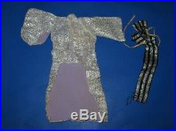 Vintage Barbie Japanese Exclusive Silver Cherry Blossom Kimono and Obi