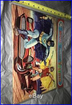Vintage Batman Japanese TOY ADAM WEST BURT WARD RED BATMOBILE MIP KOIDE READ