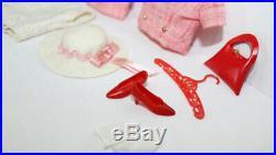Vintage Francie Japanese Fashion Barbie light red summer suit C/NM