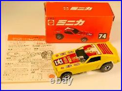 Vintage Hot Wheels Japanese Red Box Yellow Show Hoss Stellar Piece RARE