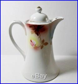 Vintage Japan 14 pc HOT CHOCOLATE POT SET Pot/Cups/Saucers CHERRY BLOSSOM