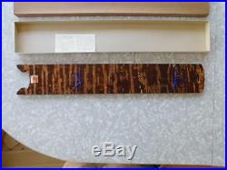 Vintage Japanese Kabazaiku Cherry Bark Tanzaku-kake frame/board 60s Japan withbox