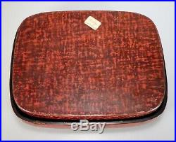 Vintage Japanese Red Lacquer Box 56026