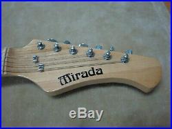 Vintage Mirada Japanese Electric Guitar Older Lead ll Cop 70's 80's Goodie