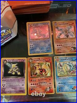 Vintage Pokémon Card Collection Ultra Rare Holos and others
