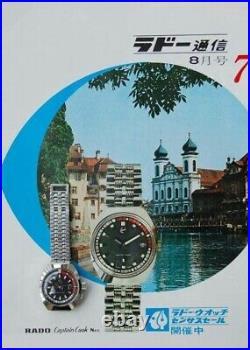 Vintage Rado Captain Cook Original Jubilee Bracelet For Japanese Market 11773/2