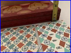 Vintage Red Lacquered Japanese Box, Lacquer Wood, With Wood Storage Box