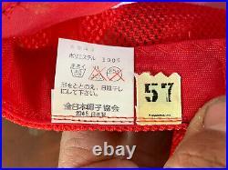 Vintage Snapback Japanese Baseball Hiroshima Toyo Carp Hat Mint NOS