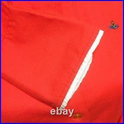 Vivienne Westwood Blouse red L size Goods Vintage from japanese K9273