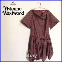 Vivienne Westwood Red Dress S size fashion Goods Vintage from japanese K9909