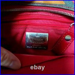 Vivienne Westwood Red bag Vintage Fashion Goods item from japanese K10451