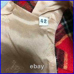 Vivienne Westwood Tops Red M size Goods Vintage from japanese K9209