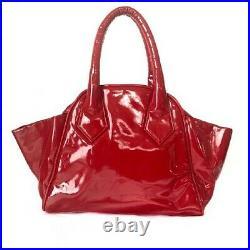 Vivienne Westwood hand Bag Red Vintage Fashion goods item from japanese K13907